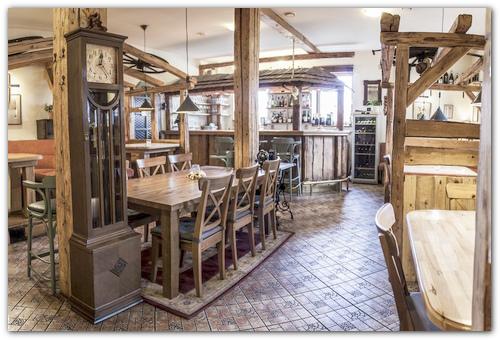 Ресторан пансионата Бавария.
