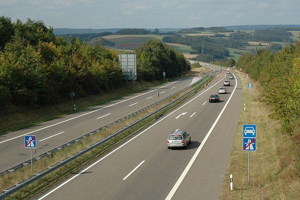 Скоростное шоссе.