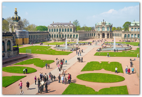 Картинная галерея Дрездена.