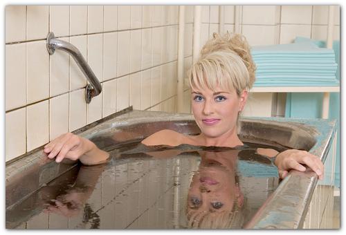 Грязевые ванны.