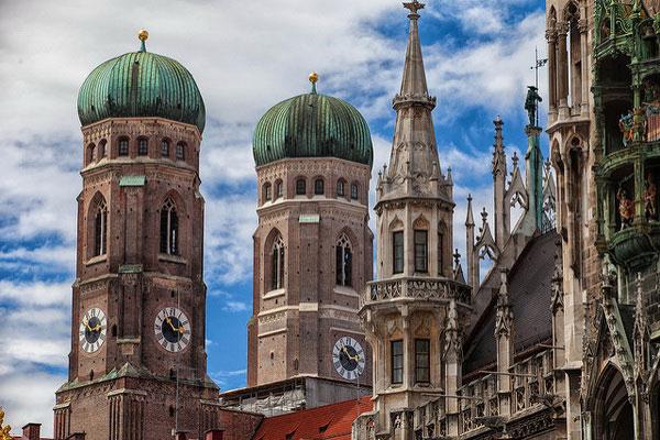 Поезка в баварскую столицу и чешской.