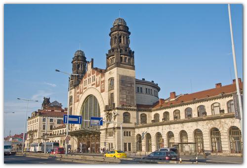 Вокзал Праги.