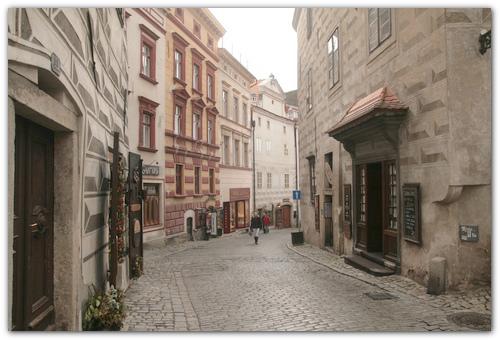 Улицы древнего города.