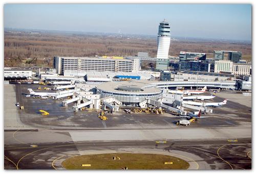 Аэропорт Вены.