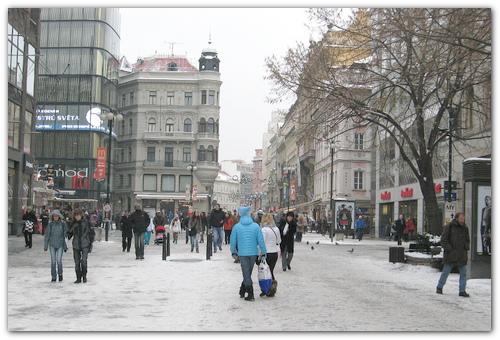 Погода в январе.