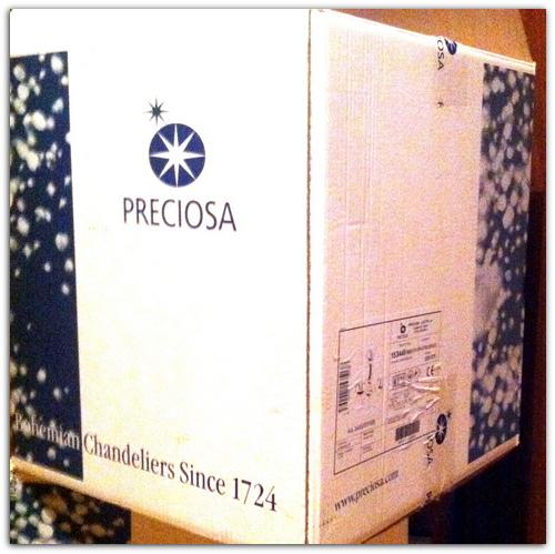 Коробка Preciosa.