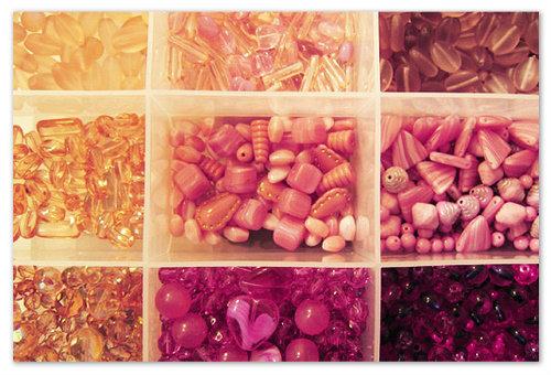 Коробочки с бисеринками