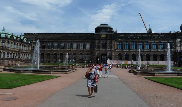 Дрезденская картинная галерея.