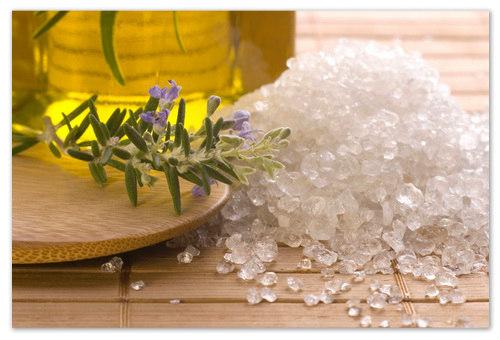 Минеральная карловарская соль.