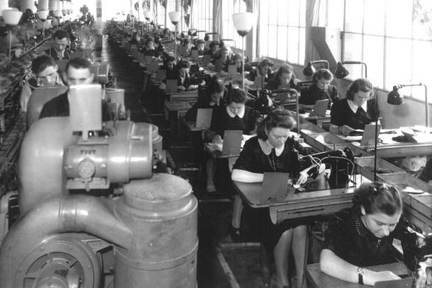 Чешской обувное производство в первой половине 20 века.
