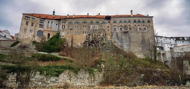 Zámek Český Krumlov.