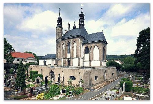 Самая известная церковь в Чехии.