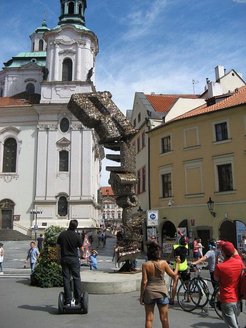 Собор Святого Николая в Праге.
