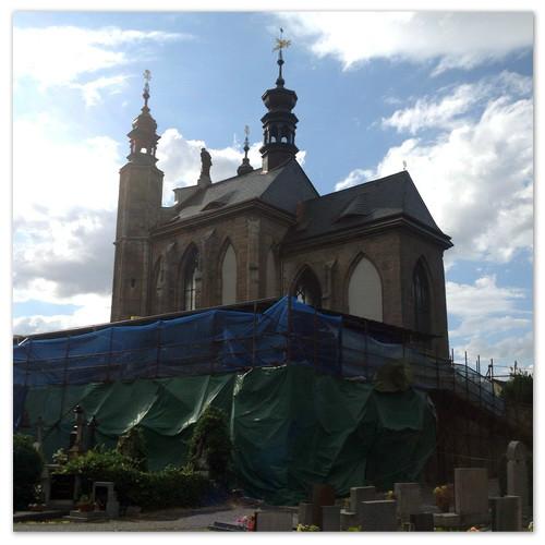 Говорят, что костница в Чехии закрыта на ремонт.