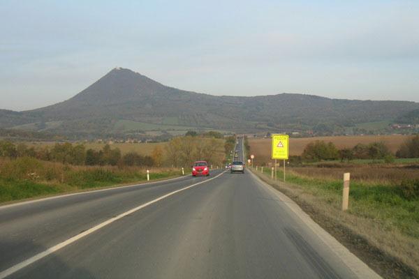 Дорога в Чехии.