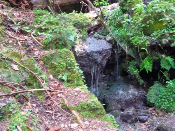 Маленький водопад.