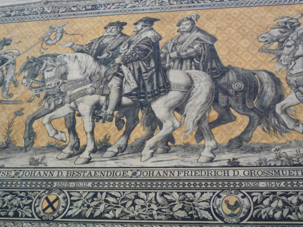 История правителей Саксонии.