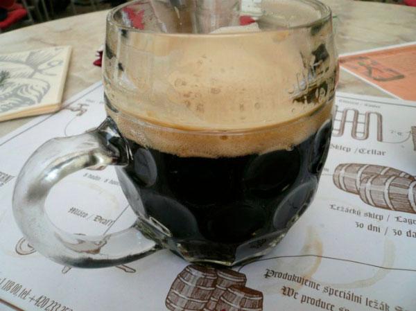 Знаменитое чешское пиво.