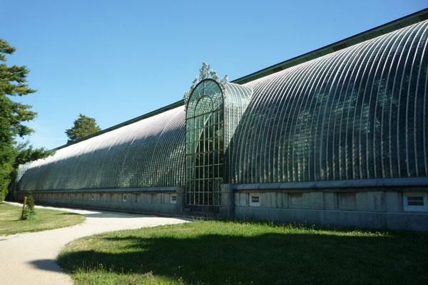 Дворцовая теплица для выращивания тропических растений в средней полосе.