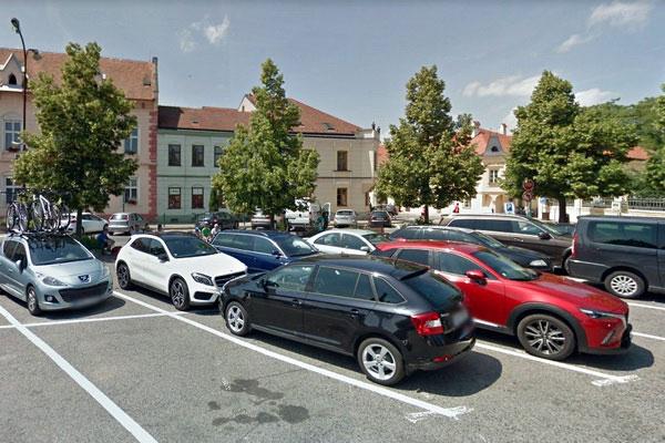Автомобильная парковка.