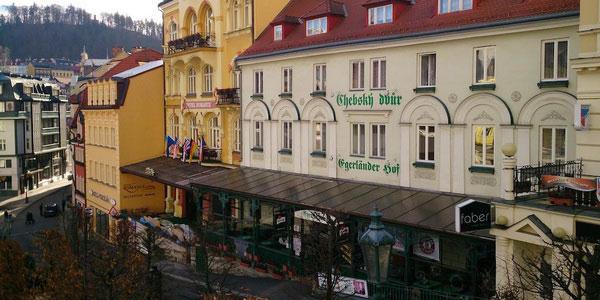 Ресторан Chebský Dvůrc.