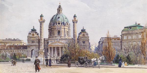 Старое фото города.