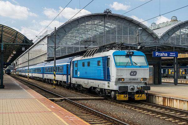 Как доехать в Будапешт из Праги на поезде?