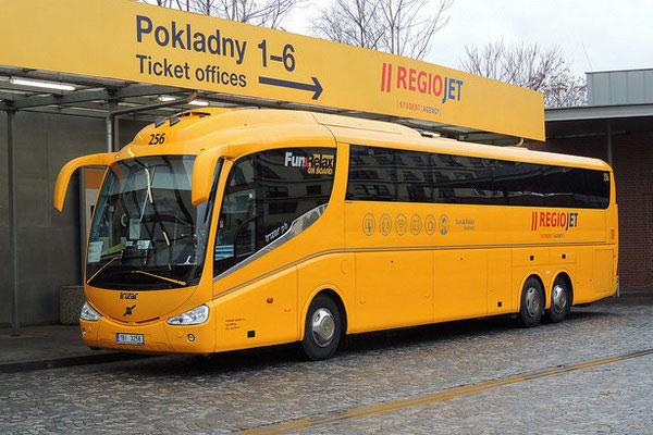 Автобусом из Чехии в Германию.