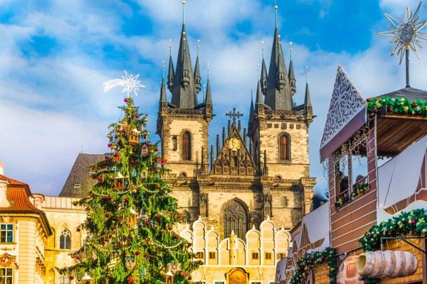 Прага в Новый год 2020.