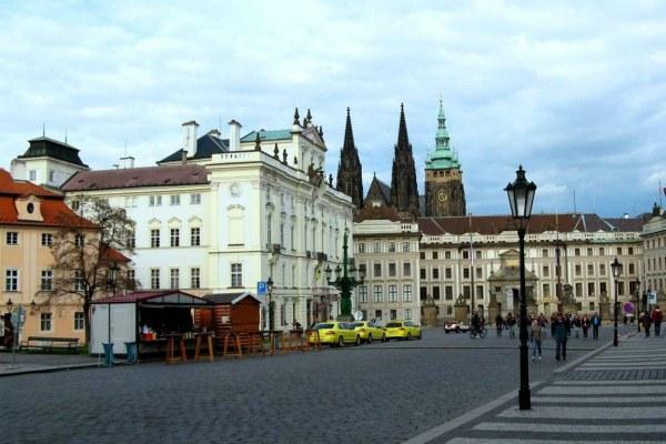 Поездка в Праге.