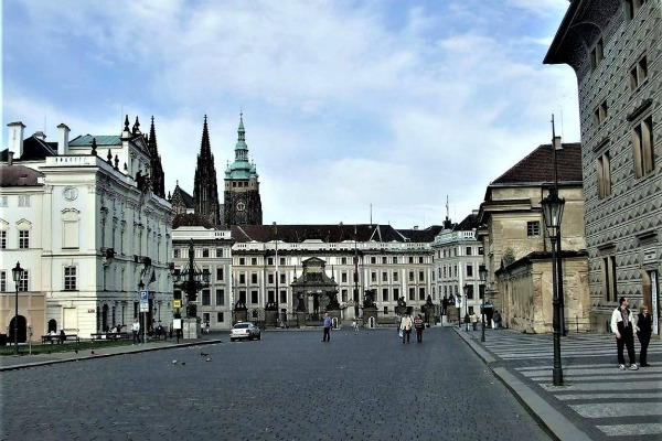 Весенняя Прага.
